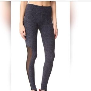 Mesh beyond yoga leggings heather grey